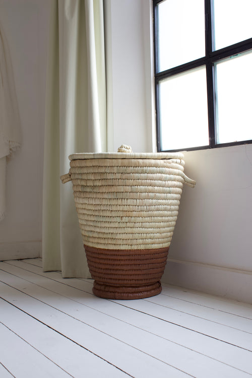 Laundry Basket Terra Cotta