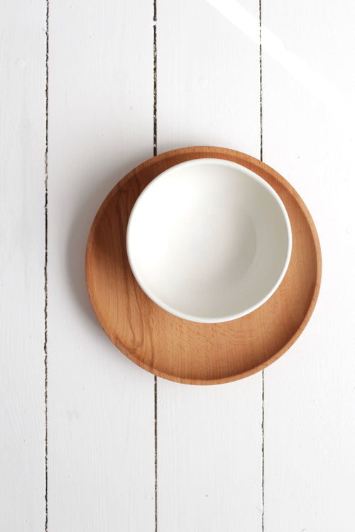 Wood Plate Large