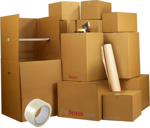 Medium Move Pack - 35 Boxes PLUS Supplies