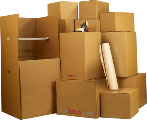 The Rockefeller Move Pack - 125 Boxes PLUS Supplies