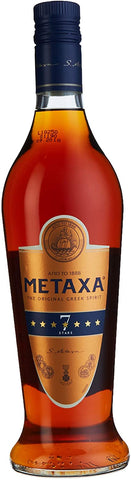 BRANDY METAXA 7 STARS; ML. 700