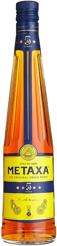 BRANDY METAXA 5 STAR; ML. 700