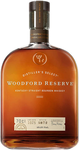 WHISKEY WOODFORD RESERVE BOURBON; ML. 700