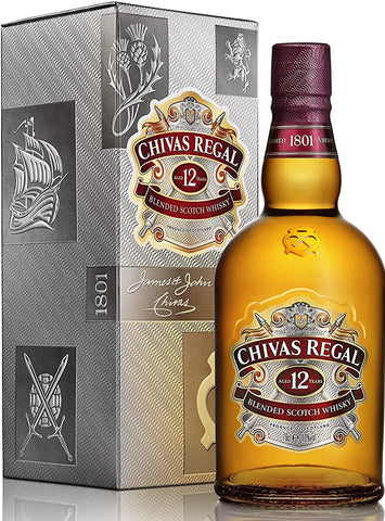 WHISKY CHIVAS REGAL 12Y; ML. 700; Astucciato