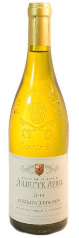 CHATEAUNEUF DU PAPE BLANC JULIETTE AVRIL (2016); ML. 750