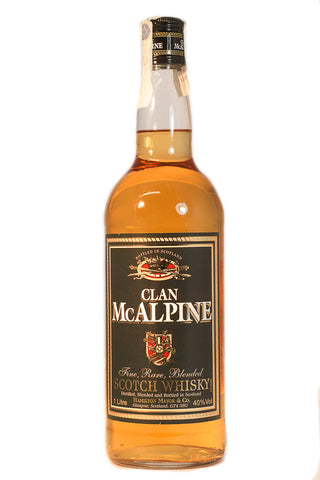 WHISKY CLAN MC ALPINE; ML. 1000