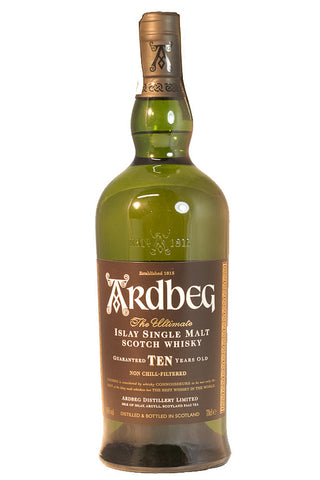 WHISKY ARDBEG 10Y; ML. 1000