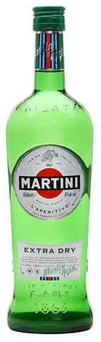 MARTINI VERMOUTH EXTRA DRY; ML. 1000