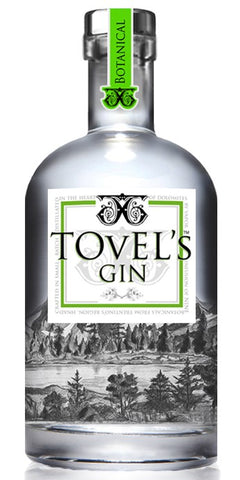 GIN TOVEL'S; ML. 700