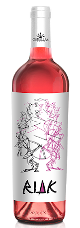 CANNONAU ROSE' RIAK GEBELIAS (2016); ML. 750