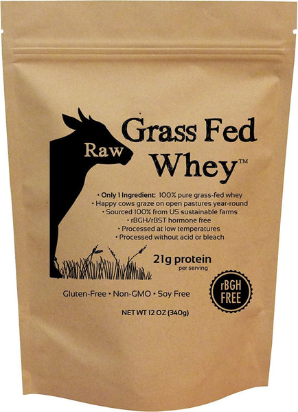 Raw Grass Fed Whey - 12 oz