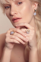 Larkspur Ring - indulgems - 2
