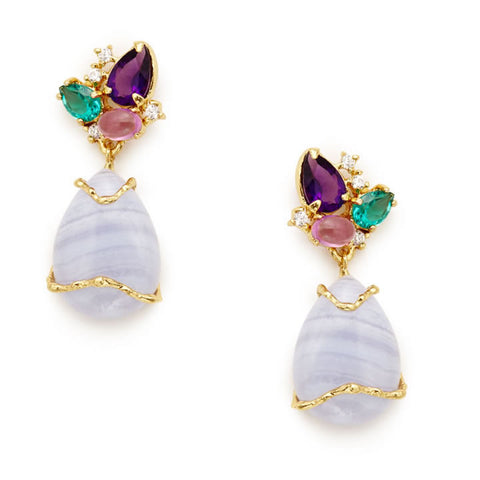 Ambrosian Earrings - indulgems - 1