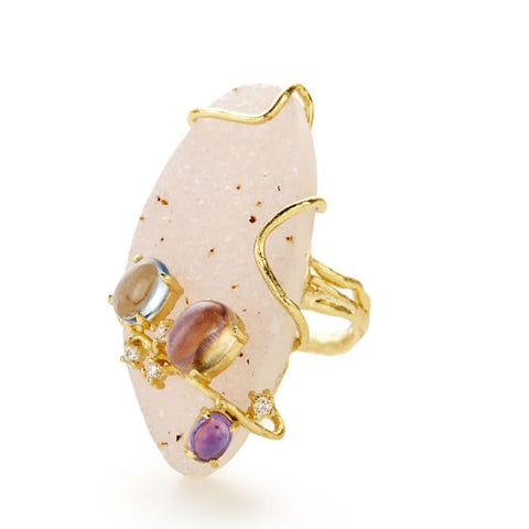 Bellegem Drusy Ring - indulgems - 1