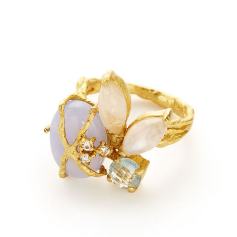 Larkspur Ring - indulgems - 1