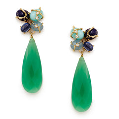 Madaleine Chryso Earrings - indulgems - 1