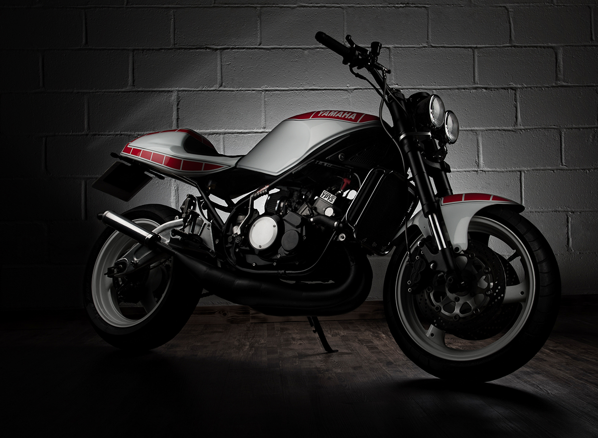 Yamaha RD350 YPVS 'Street Fighter'