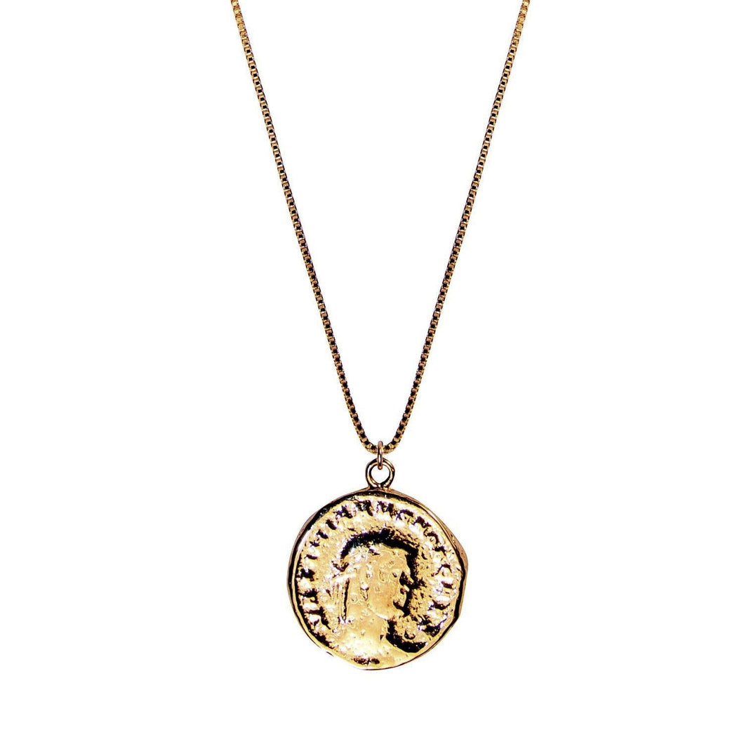 or pendant poseidon gold