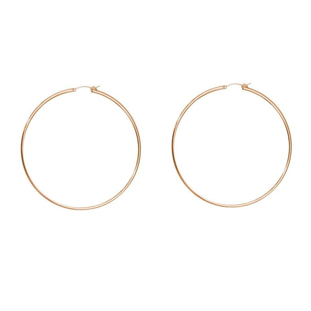 XL Hoops Gold