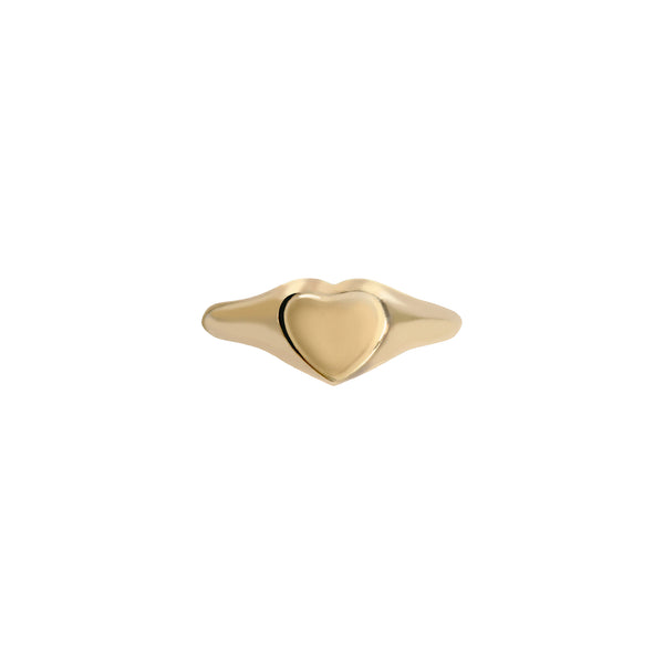 Heart Signet-Gold