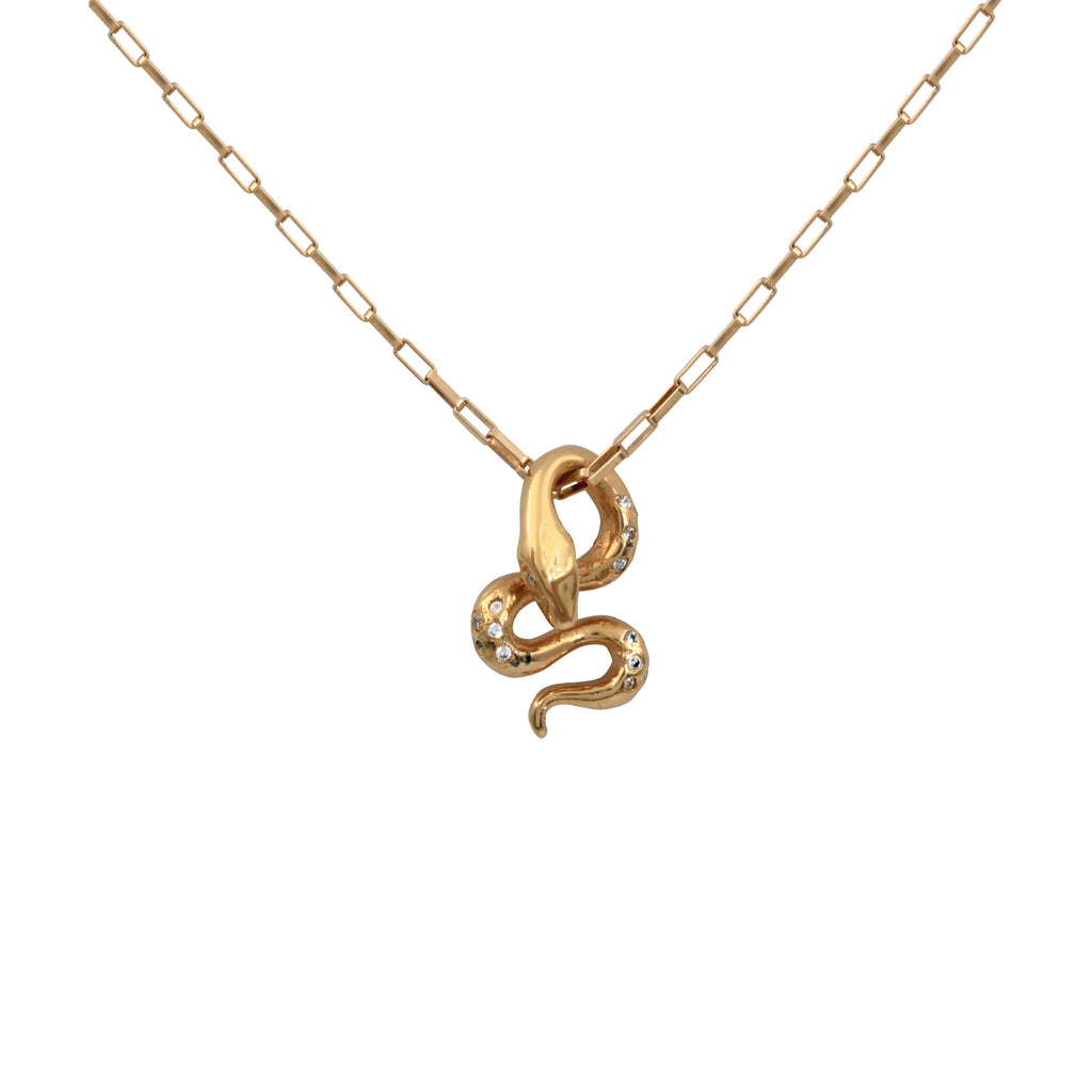 Divine Snake Necklace