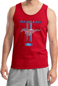Ford Mustang Tank Top Stripe Tanktop