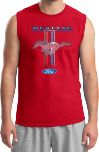 Ford Mustang T-shirt Stripe Muscle Tee