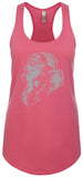 Womens Ganesh Profile Racer-back Tank Top
