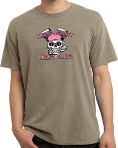 Breast Cancer Tee Bikers Against Breast Cancer Pigment Dyed