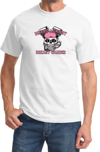 Breast Cancer T-shirt Bikers Against Breast Cancer Tee