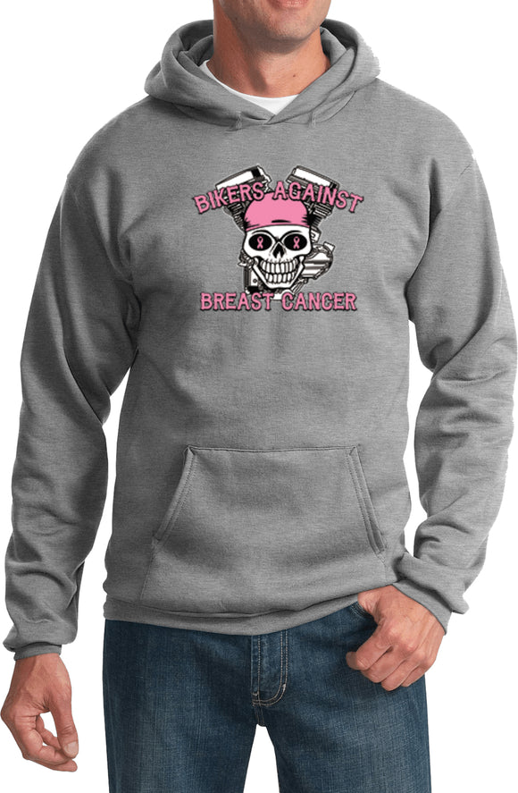 Breast Cancer Hoodie Bikers Against Breast Cancer