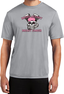 Breast Cancer Shirt Bikers Against Breast Cancer Dry Wicking Tee