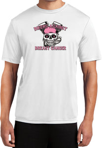 Buy Cool Shirts Breast Cancer Shirt Bikers Against Breast Cancer Dry Wicking Tee