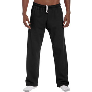 Men's Yoga Heavy Blend Open Bottom Sweatpants - Yoga Clothing for You