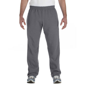 Men's Yoga Heavy Blend Open Bottom Sweatpants - Yoga Clothing for You - 4