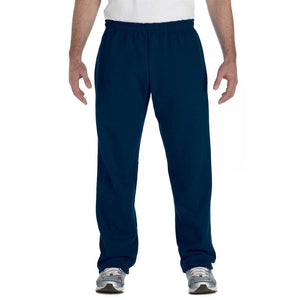 Men's Yoga Heavy Blend Open Bottom Sweatpants - Yoga Clothing for You - 7