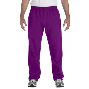 Men's Yoga Heavy Blend Open Bottom Sweatpants - Yoga Clothing for You - 5