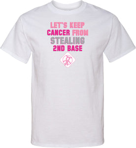 Breast Cancer T-shirt Second Base Tall Tee