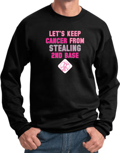 Breast Cancer Sweatshirt Second Base