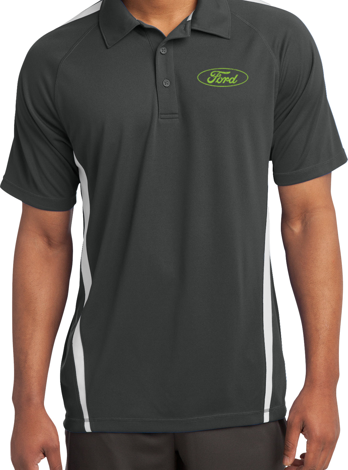 Dodge Ram Textured Polo Pocket Print