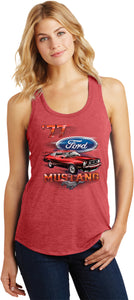 Ladies Ford Tank Top 1977 Mustang Racerback Tanktop