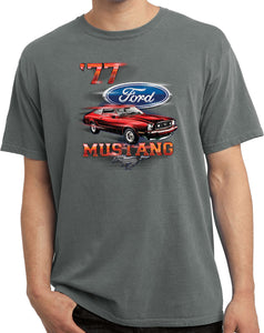 Ford T-shirt 1977 Mustang Pigment Dyed Tee