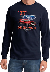 Ford T-shirt 1977 Mustang Long Sleeve