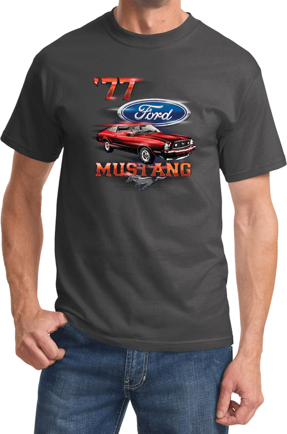 Ford T-shirt 1977 Mustang Tee