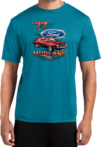 Ford T-shirt 1977 Mustang Moisture Wicking Tee