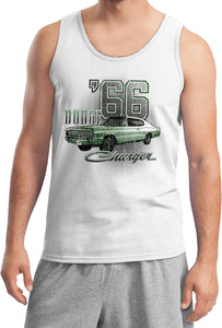 Dodge Tank Top Green 1966 Charger Tanktop