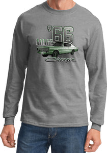 Dodge T-shirt Green 1966 Charger Long Sleeve