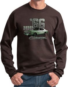 Dodge Sweatshirt Green 1966 Charger Sweat Shirt
