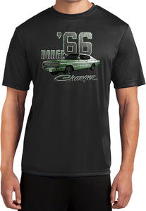 Dodge T-shirt Green 1966 Charger Moisture Wicking Tee