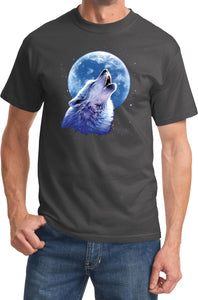 Wolf and Moon T-shirt Call of the Wild Tee